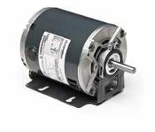 H696, 1/2 Hp, 1500 Rpm, 56 FR, 115 Vac, 1 PH, DP, Rigid Base,